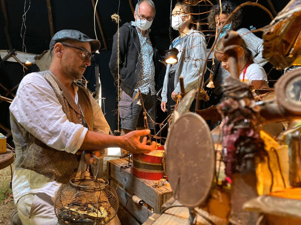 Les voyage des Hérons, tourisme local, visite d'un artisan à nantes