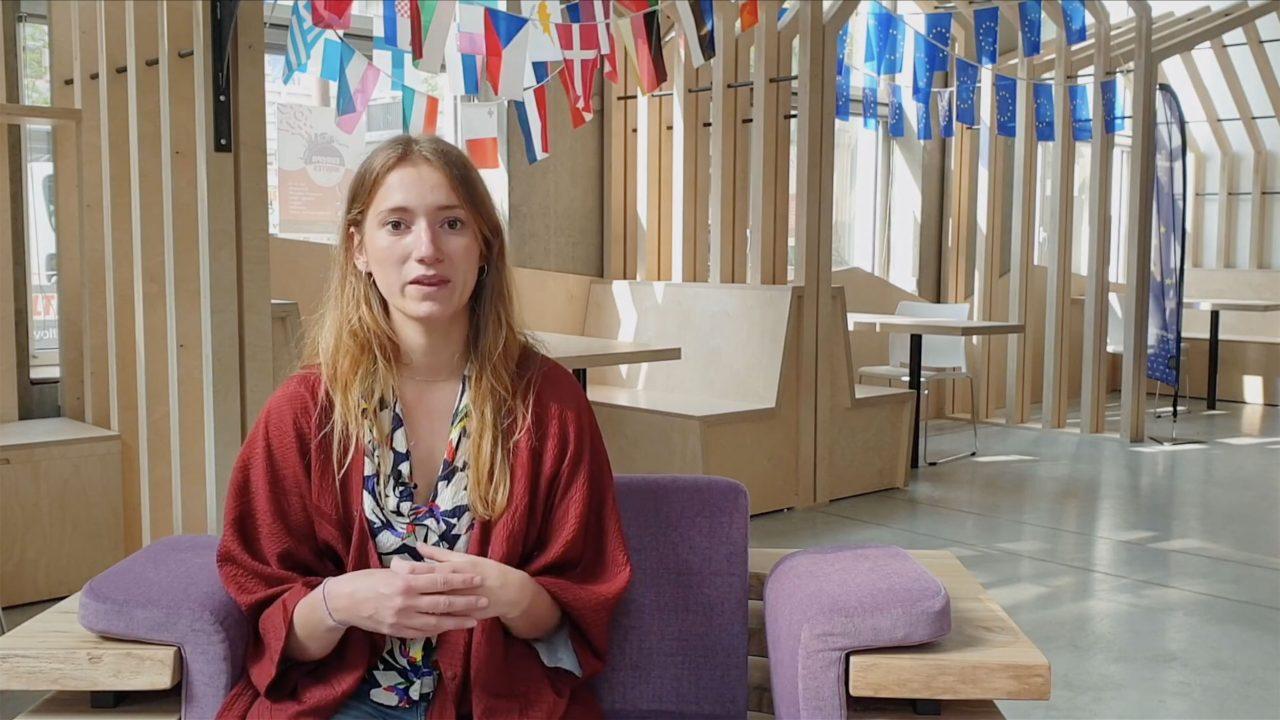 Camille nous parle de nos actions et de la convention cadre européenne de Faro