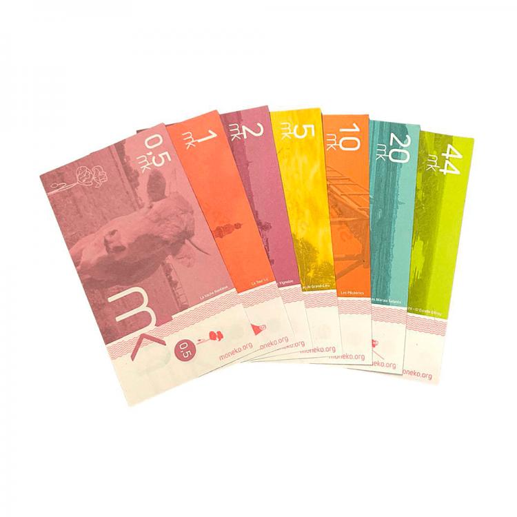 Moneko est une monnaie locale sur Nantes et sa Métropole