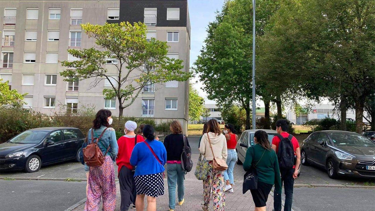 Balade dans le quartier Bellevue, dans le cadre de Tourisme participatif à Nantes